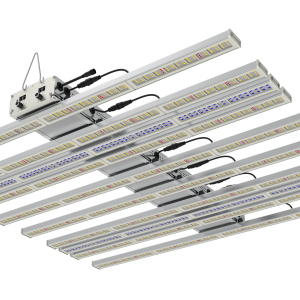 low isometric view of the Wave UV, a LED fixture of Horticraft Holland. Designed for Medical Cannabis crops